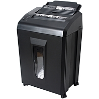 P Micro cut shredder offers hands free auto feeding for easily shredding up to 75 sheets