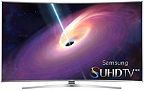 "Samsung 48"" Class (47.6"" Diag.) LED Curved 2160p Smart 3D 4K Ultra HD TV Black UN48JS9000FXZA"