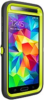 Otter Products Llc Defender Series 77-39170 Case For Samsung Galaxy S5 - Citron Kick