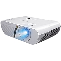 Viewsonic Lightstream Pjd5155l 3d Ready Dlp Projector - 576p - Edtv - 4:3 - Front - 200 W - 4500 Hour Normal Mode - 6000 Hour Economy Mode - 800 X 600 - Svga - 20,000:1 - 3300 Lm - Hdmi - Usb - 265 W - White Color