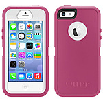 Otterbox Defender Carrying Case (holster) For Iphone 5s - Papaya - Drop Resistant, Scratch Resistant, Dust Resistant Port, Shock Resistant, Bump Resistant, Damage Resistant, Debris Resistant Port - Silicone - Two-tone - Belt Clip 77-34589