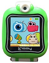 Linsay S-5wclgreen Kids Smartwatch With Camera - 1.5-inch Display - 128 Mb Rom - Green