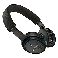 Bose Soundlink On-ear Bluetooth Headphones - Stereo - Black - Mini-phone - Wired/wireless - Bluetooth - 30 Ft - Over-the-head - Binaural - Circumaural - 3.94 Ft Cable 714675-0010