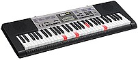 The Casio LK175 PPK 61 Key Lighted Key Portable Premium Keyboard makes learning to play the piano entertaining and fun