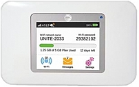 At&t Netgear Unite 812320004497 65396 4g Lte Mobile Wi-fi Hotspot - White