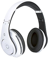 The Memorex MHBT0545W Bluetooth Headphones stream your favorite beats directly to your brain
