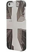 Venom Communications 5031300077992 CO7799 Metro Scape Skyscraper Case for iPhone 5 5S Black White