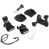 P The Grab Bag is bag of add on parts is for GoPro quick release camera owners wanting more mounts