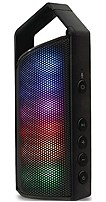 Latte Communication Soundmagic Express Ck008blk Portable Bluetooth Speaker With 8 Led Modes Including 2 Equalizer - Black