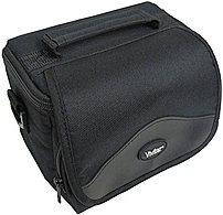 Vivitar VIV-BTC-6 Digital Camera/Camcorder Case - Black