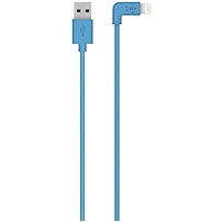 Belkin Mixit�ª Sync/charge Lightning Data Transfer Cable - Lightning - 3.94 Ft - Lightning Proprietary Connector - Blue F8j147bt04-blu