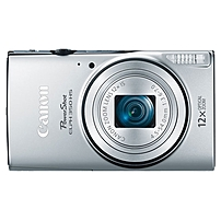 "Canon Powershot 350 Hs 20.2 Megapixel Compact Camera - Silver - 3"" Lcd - 16:9 - 12x Optical Zoom - 4x - Optical (is) - Ttl - 5184 X 3888 Image - 1920 X 1080 Video - Pictbridge - Hd Movie Mode - Wireless Lan 0158c001"