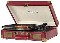 Crosley Cr8005a-ca Cruiser Portable Turntable - Cabernet