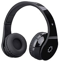 Don't miss a beat with the Memorex MHBT0245BK Wireless Headphones, which utilize Bluetooth technology to pair with your compatible mobile device for streaming your favorite music
