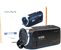 Sony CX440 HDR CX440 B Full HD 60p Video Recording Handycam Camcorder 30x Optical 350x Digital Zoom 2.64 inch Clear Photo LCD display 26.8 mm Wide Angle Lens Black