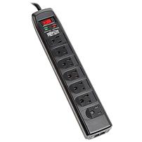 Tripp Lite Surge Protector Strip 120v 7 Outlet Rj11 6ft Cord 1440 Joules - 7 X Nema 5-15r - 1.80 Kva - 1440 J - 120 V Ac Input Tlp706telc