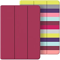 Belkin F7n313btc00 Reversible Cover For Ipad Air 2 - Pink Stripe