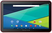 Visual Land Prestige Elite 10QL ME-10QL-16GB-RED 10-inch Tablet PC - ARM 1.3 GHz Quad-Core Processor - 1 GB DDR3 RAM - 16 GB Storage - Android 5.0 Lollipop - Red