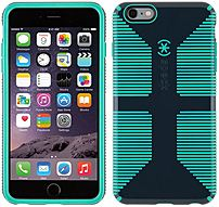 The Speck Products SPK A3498 CandyShell Grip Case features patented design provides two layers of protection