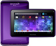 Visual Land Prestige Pro Me-7d-16gb-pur Wi-fi Tablet Pc - Cortex-a9 1.6 Ghz Dual-core Processor - 1 Gb Ddr3 Ram - 16 Gb Storage - 7.0-inch Display - Android 4.1 Jelly Bean - Purple