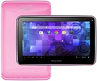 Visual Land Prestige Me-7g-8gb-pnk Tablet Pc - Arm Cortex A8 1.2 Ghz Single-core Processor - 512 Mb Ram - 8 Gb Storage - 7.0-inch Touchscreen Display - Android 4.1 Jelly Bean - Pink