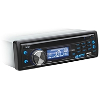 P Single DIN CD MP3 Player with Detachable Front Panel br    br    Feel the miles zoom by while you listen to music on the BOSS Audio 637UA CD  MP3 Player