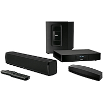 Bose Soundtouch 120 Sound Bar Speaker - Table Mountable, Wall Mountable - Wireless Speaker(s) - Black - Bluetooth - Usb - Wireless Audio Stream, Internet Radio, Adaptiq, Ethernet, Hdmi 738478-1100