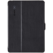Speck Products Stylefolio Carrying Case (folio) For Ipad Air - Slate Gray, Black - Scratch Resistant Interior, Bump Resistant Interior, Spill Resistant Interior, Drop Resistant Interior - Vegan Leather Spk-a2137