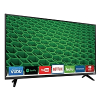 VIzio D50 D1 50 inch LED Smart TV 1920 x 1080 240 Clear Action 5 000 000 1 Wi Fi HDMI