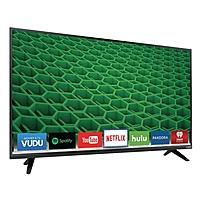 VIzio D50 D1 50 inch LED Smart TV 1920 x 1080 240 Clear Action 5 000 000 1 Wi Fi HDMI