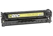 Compatible with HP CE412A-R Remanufactured For HP CE412A Laser Toner Cartridge - Yellow