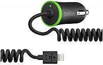 Belkin F8J114BT04-BLK Auto Adapter - 12 W Output Power - 12 V DC Input Voltage - 5 V DC Output Voltage - 2.40 A Output Current