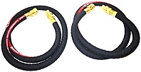 ConiTech MCD H8 PR Petroleum Transfer Hoses 2 Pack 8 Feet 250 WP 1 inch Black