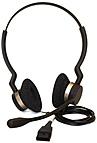 GN Netcom Jabra BIZ 2300 Series 2309 820 105 QD DUO Headset Wired On ear Noise Cancel