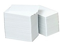Zebra 104524-101-R Premier Plus Card - 100 Pack - 2.12 x 3.38-inch - White