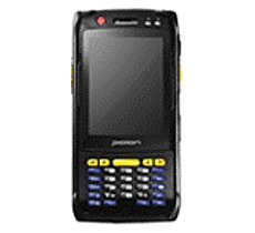 Bluebird Pidion BIP 6000 Rugged Handheld Computer 3.5 inch Display PXA 320 806 MHz Processor 256 MB RAM 1 GB Flash Memory Wi Fi Windows Mobile 6.1
