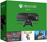 Microsoft Xbox One 1TB Console - 3 Games Bundle -Gears of...
