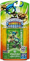 Back and better than ever, Activision Series 2 84506 Skylanders Giants  Stealth Elf Action Figure is returning from Skylanders Spyro's Adventure with new Wow Pow power upgrades and increased level cap