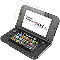 ZAGG InvisibleShield 3DXISS F00 Screen Protector for New Nintendo 3DS XL Clear