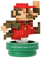 The Nintendo 30th Anniversary Series NVLCAFAA Mario Classic Color amiibo Gaming Figure style has evolved throughout his many adventures and challenges