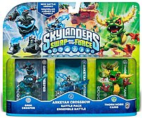 Expand your gameplay experience with Activision 047875847576 Skylanders Swap Force Arkeyan Crossbow Battle Pack
