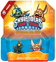 The Activision 047875870932 87093 Skylanders Trap Team  Drobit and Trigger Snappy started off as regular Sidekicks, assisting the Skylanders on many exciting adventures