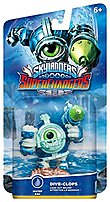 Bring the Skylanders to life with Activision 047875875272 87527 Skylanders Superchargers  Drivers Dive Clops Figure