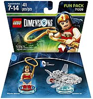Warner Home Video-games 883929463893 Dc Wonder Woman Fun Pack - Lego Dimensions