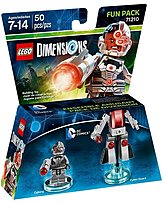 Warner Home Video-games 883929463909 Dc Cyborg Fun Pack - Lego Dimensions