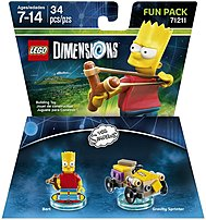Warner Home Video-games 883929463916 Simpsons Bart Fun Pack - Lego Dimensions