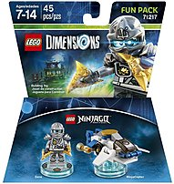 Let creativity be the guide to a building and gaming adventure   journey through unexpected worlds and team up with unlikely allies on the quest to defeat the evil Lord Vortech using Warner Home Video   Games 883929463992 1000545971 Ninjago Zane Fun Pack
