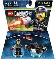 Warner Home Video - Games 883929464029 1000545974 Lego Movie Bad Cop Fun Pack - Lego Dimensions