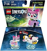Warner Home Video - Games 883929464067 1000545978 Lego Movie Unikitty Fun Pack - Lego Dimensions