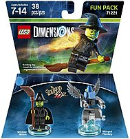 Warner Home Video - Games 883929464098 1000545981 Wizard Of Oz Wicked Witch Of The West Fun Pack - Lego Dimensions